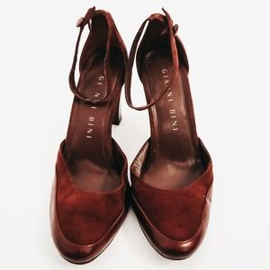 Gianni Bini Heels Size 7.5M Maroon